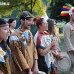 večerní nástup - Čerokéžští náčelníci