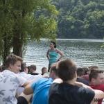 poučení - probíráme táborový řád, ...