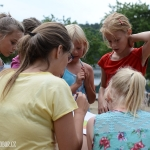 čtverečky - nejmenší holky